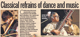 Classical refrains of Dance & Music