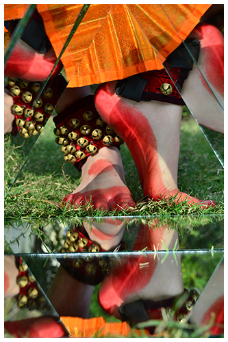 Ghungroo in Dance