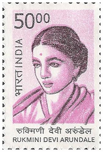 Rukmini Devi In Bharatnatyam