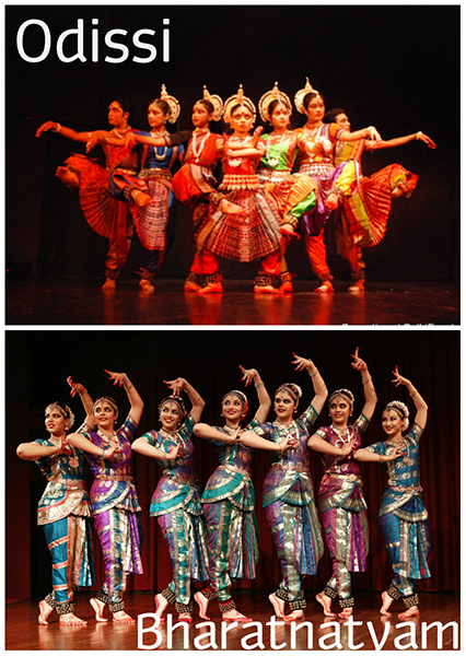 Indian Classical Dance - Bharatnatyam and Odissi