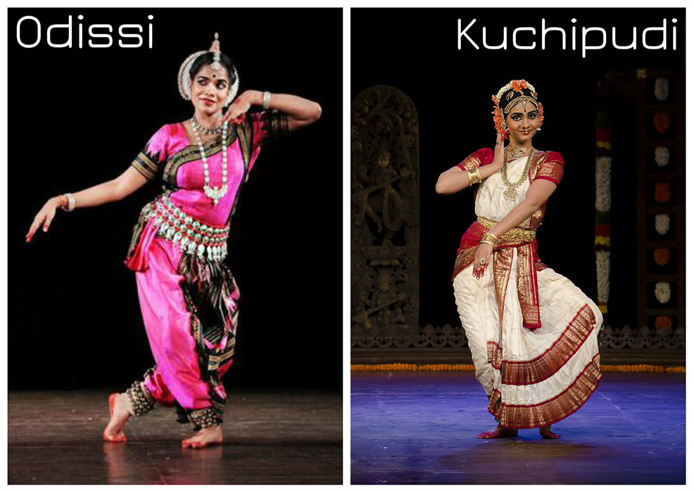 Classical dances of India - Kuchipudi and Odissi